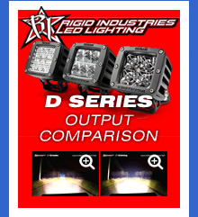 d-series led light comparison