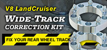 Wide Track Correction Kit